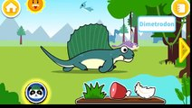 Baby Panda Explore Jurassic World | Learn About Dinosaurs | Educational Game for
