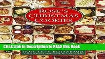Read Book Rose s Christmas Cookies Full eBook