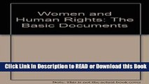 PDF [FREE] DOWNLOAD Women and Human Rights: The Basic Documents Book Online