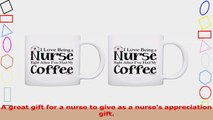 Coffee Lovers Gift Love Being Nurse Right After Coffee 2 Pack Gift Coffee Mugs Tea Cups 23605056