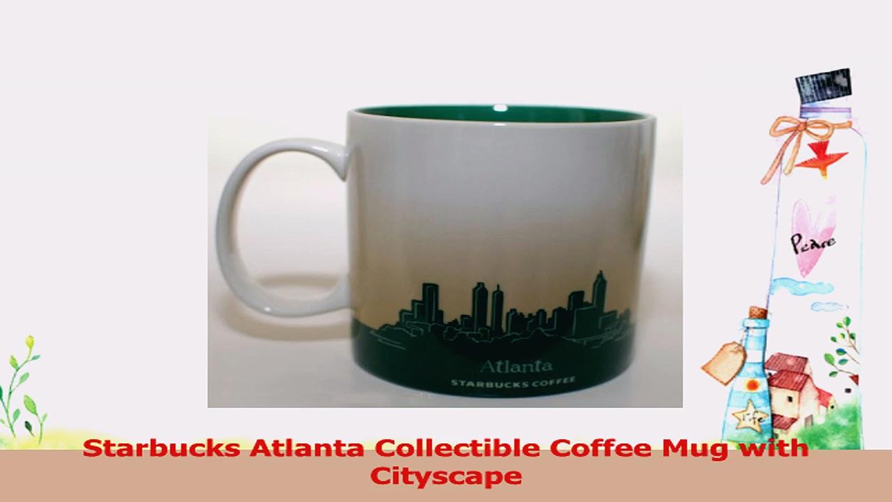 Starbucks Atlanta Collectible Coffee Mug with Cityscape 5217adbc