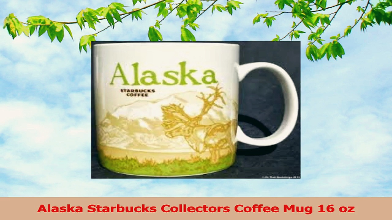 Alaska Starbucks Collectors Coffee Mug 16 oz 2e5d52e2