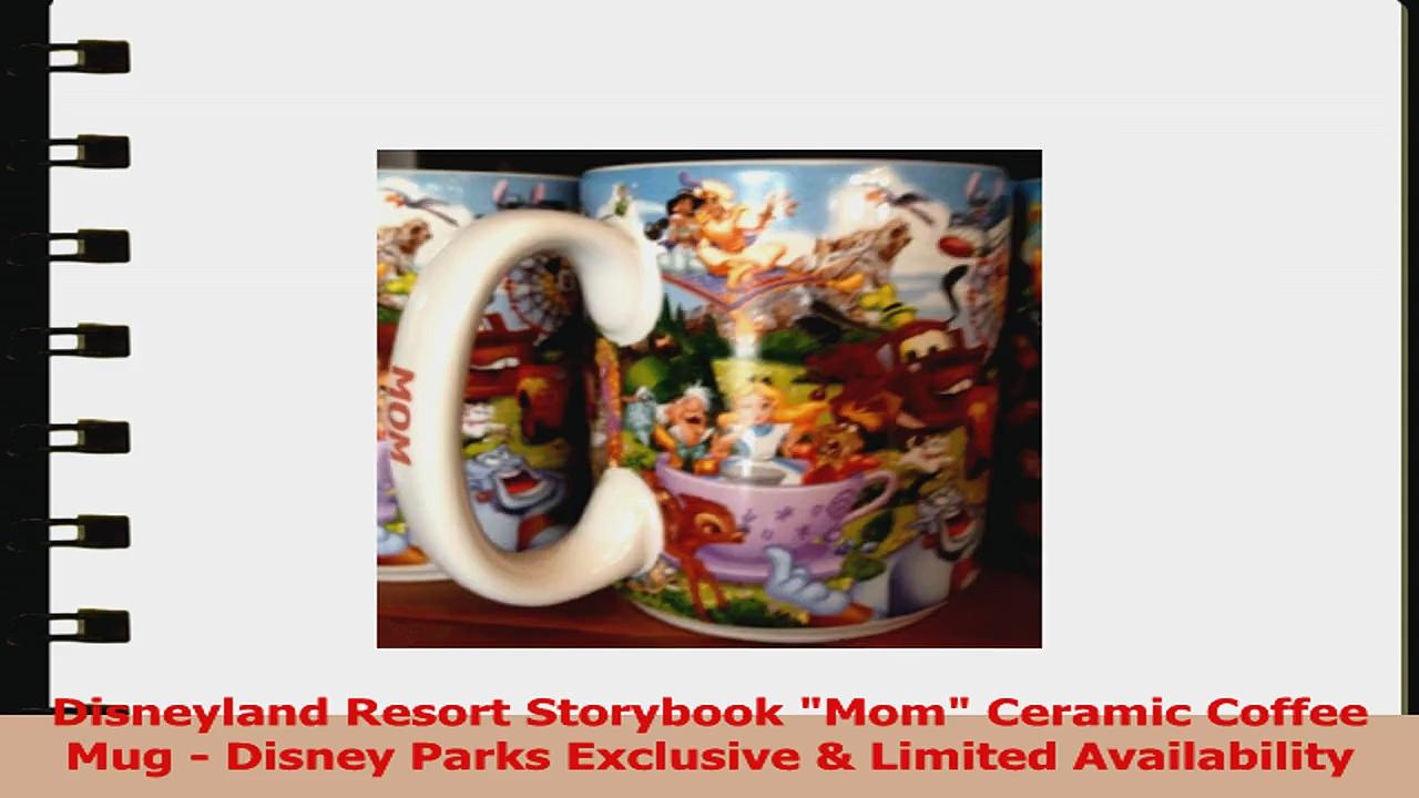 Disneyland Resort Storybook Mom Ceramic Coffee Mug  Disney Parks Exclusive  Limited 6c5454cd