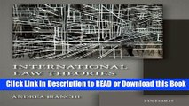 BEST PDF International Law Theories: An Inquiry into Different Ways of Thinking [DOWNLOAD] Online