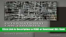 PDF [FREE] DOWNLOAD International Law Theories: An Inquiry into Different Ways of Thinking Book