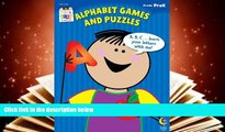 Audiobook  Alphabet Games and Puzzles Stick Kids Workbook, Grade PreK (Stick Kids Workbooks)