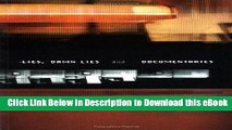 [Read Book] Lies, Damn Lies and Documentaries (Distributed for the British Film Institute) Mobi