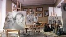 Retratos a lápiz, retratos por encargo