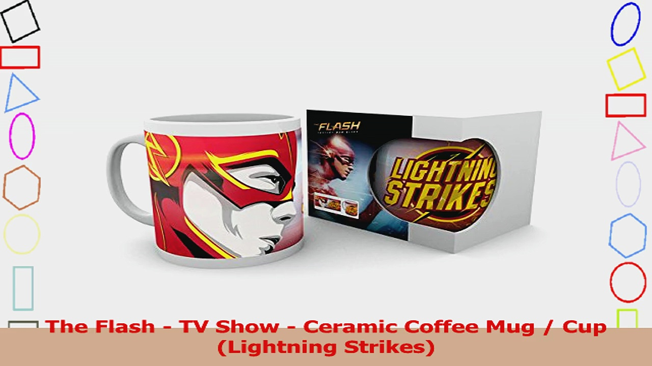 The Flash  TV Show  Ceramic Coffee Mug  Cup Lightning Strikes 76235dd6