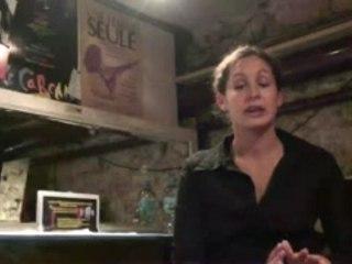 Interview de la comédienne Perrine Dauger