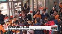 Moon Jae-in's lead in presidential polls threatened by fellow DP member An Hee-jung