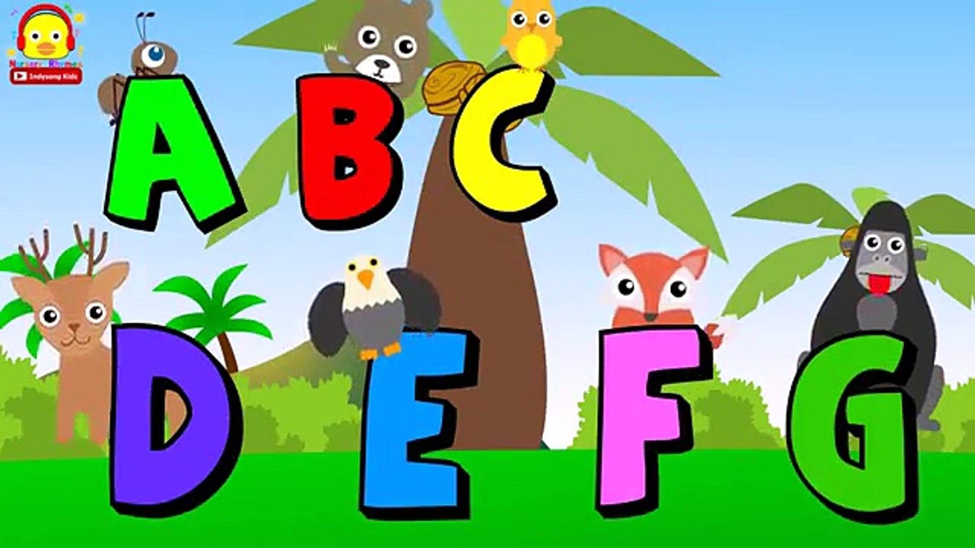 Узнать ABC алфавит песня для детей ♫ Детские песни ♫ детские стишки Инди песни дети