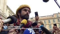 """Migrants: l'agriculteur Cédric Herrou juge que """"nos politiques vont devoir assumer leurs responsabilités"""""""