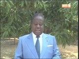Message du nouvel an du Président du PDCI Henri Konan Bedié