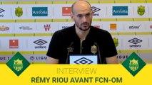 Rémy Riou avant FCN-OM