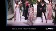Kendall Jenner très sexy en robe transparente à la Fashion Week de New York