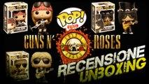 FUNKO POP Guns N' Roses AXL ROSE | SLASH | DUFF Unboxing & Recensione
