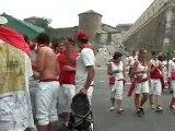 gars bourré aux fêtes de bayonne