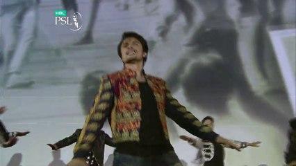 Ali Zafar singing the HBL PSL Anthem 'Ab Khel Jamay Ga!'