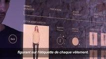 «La cabine d'essayage du futur» en test avant la Fashion Week