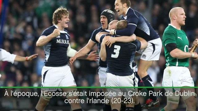 Rugby - Tournoi : France-Ecosse en chiffres