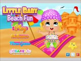 Little Baby Beach Fun video for sweet little kids
