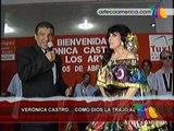 Verónica Castro como Dios la trajo al mundo!