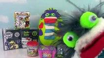 Fizzy Play Doh Surprise Egg 5000 Subscribers Blind Box Celebration! Funko Kidrobot BFFs