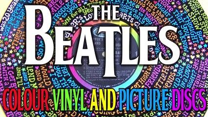 Colour vinyl and picture discs