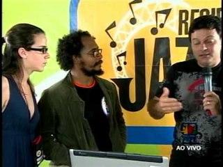 Alejandro Vargas, Recife Jazz Festival 2008 Brasil, Entrevista televisiva