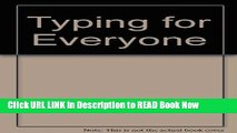[PDF] Typing for Everyone (Arco Typing   Keyboarding for Everyone) FULL eBook