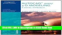 Get the Book Autocad 2007 3-D Modeling, a Visual Approach Free Online