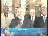 Le Président Konan Bédié a reçu des responsables du groupe d'une compagnie fruitière