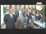Le Ministre Ahoussou Jeannot a reçu Doudou Diène,expert indépendant des Nations Unies