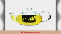 Primula Lea Teapot with Infuser and 2 Flowering Teas 22Ounce da81a71c