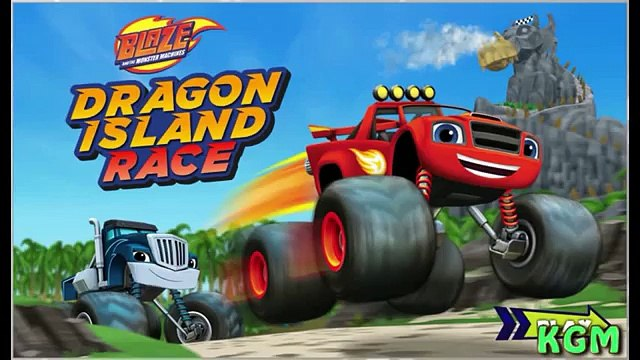 Monster Truck Blaze Dragon Island Race and the Monster Machines Monster Truck Video Games