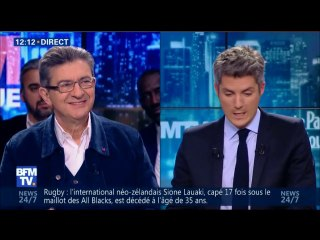 """Jean-Luc Mélenchon invité à """"BFM Politique"""" le 12/02/2017"""
