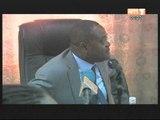 Le Ministre de la fonction publique Gnamien Konan a rencontré les bailleurs de fonds