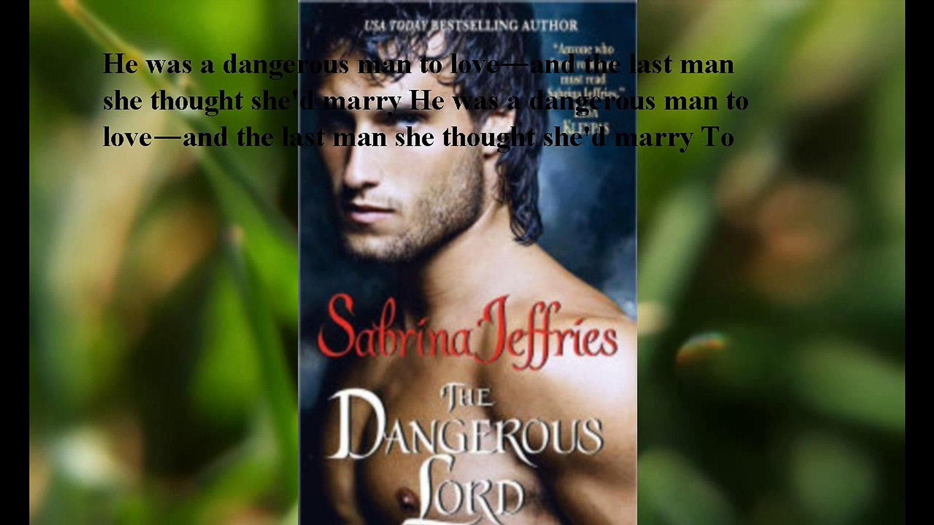Download The Dangerous Lord (Lord Trilogy Series #3) ebook PDF