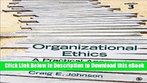 [Read Book] Organizational Ethics: A Practical Approach Mobi