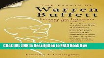 [Popular Books] Essays of Warren Buffett Lessons for Investors and Managers FULL eBook