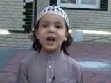 machallah enfant qui récite le coran