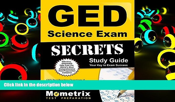 Audiobook GED Science Exam Secrets Workbook: GED Test Practice Questions  Review for the General