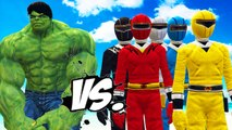 THE INCREDIBLE HULK VS POWER RANGERS - EPIC BATTLE