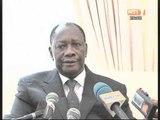 Le Président Ouattara a rendu visite au Président de la conférence du RHDP Henri Konan Bedié