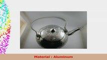 1pc Vintage Tea Kettle Antique Tea Pot Set aluminum Kettle Set Collection Silver tea pot ad46da2c