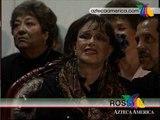 Lucha Villa volvió a cantar en su homenaje!!