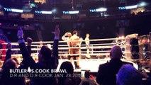 Boxe - Brandon Cook mis KO par un verre de glace après avoir remporté son combat