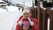 ✔ Беби Борн и Ненуко с Ярославой на прогулке в Буковеле / Экскурсия по дому / Video for Kids ✔