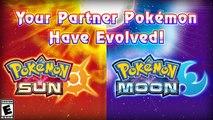 Pokemon Sun and Moon - Starter Pokemon Evolutions Trailer